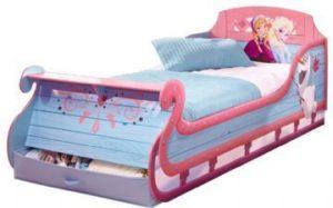 Frost-slæde-seng