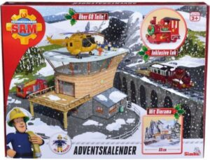 Brandman sam julekalender, julekalender med brandman sam, julekalender til børn, børne julekalender,