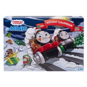 Thomas tog julekalender, julekalender til børn, juleklaender til børn med Thomas tog, julekalender Thomas tog