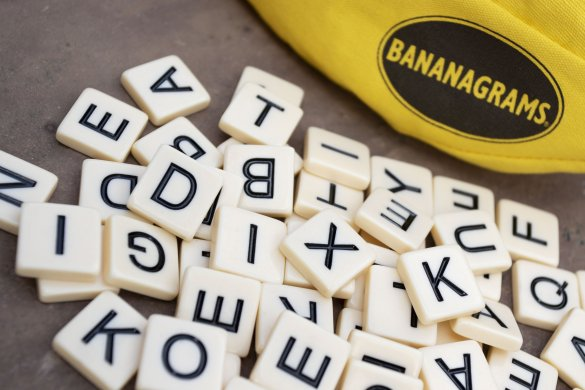 Bananagrams Travel Game