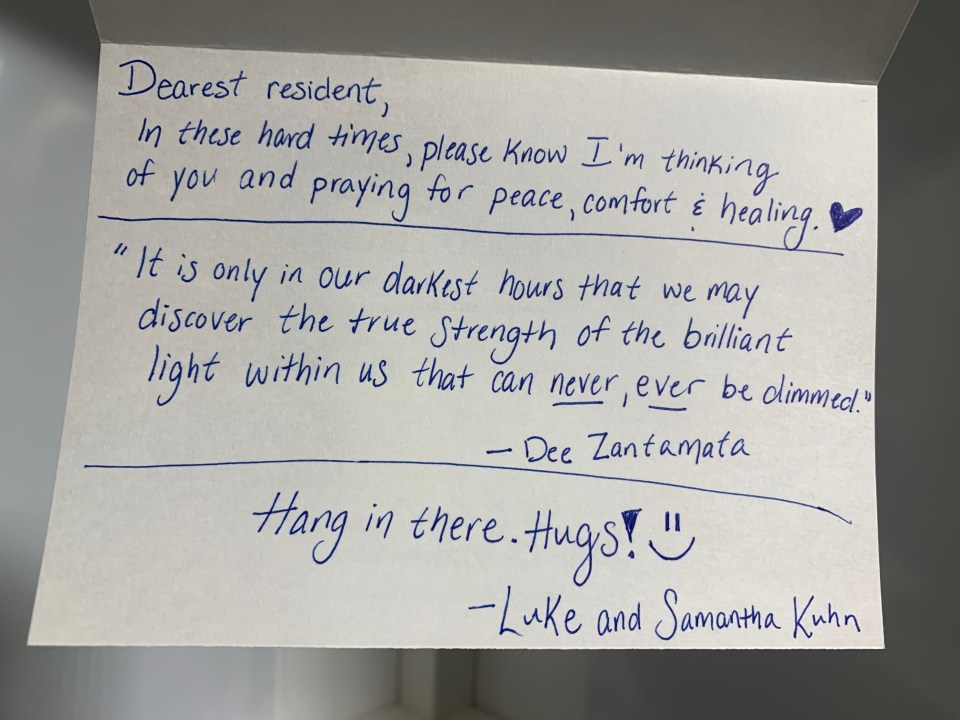 Fight Loneliness By Writing Cards To Seniors Born In Defiance