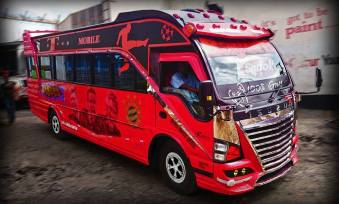 Matatu Name: Bayern (after the German football club: Bayern Munich)