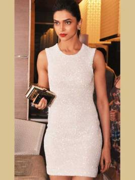 Deepika-Padukone-in-White-One-Piece