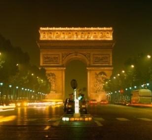 romantisk weekendophold Paris