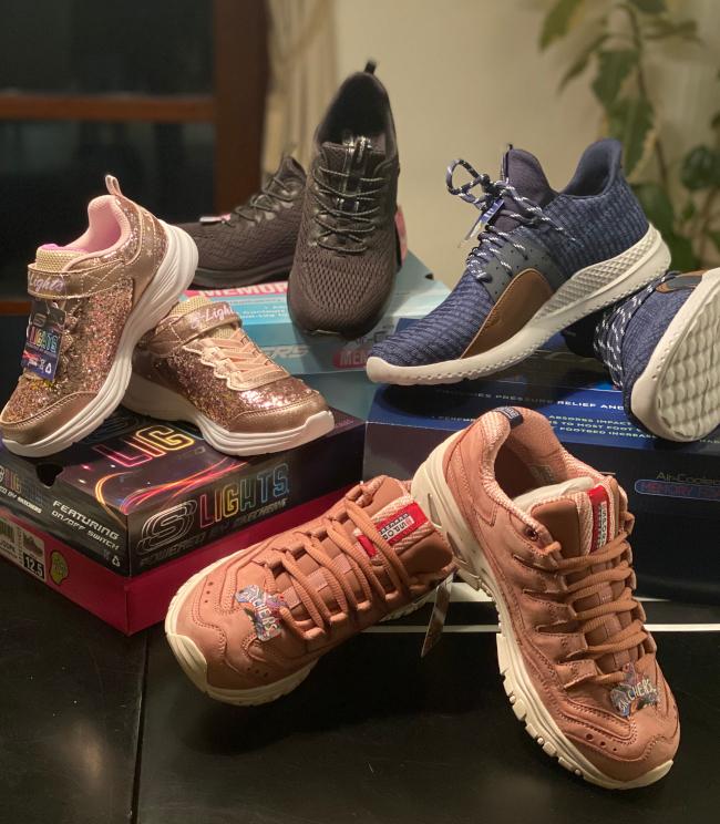 sko til hele familien