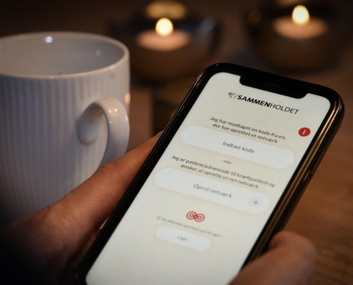 """Kræftens Bekæmpelses app """"Sammenholdet"""""""