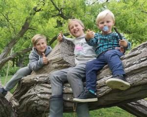 voksne børn efter skoldkopper