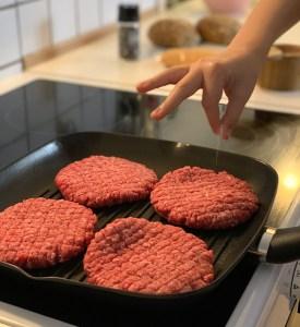Kokkens hverdagsmad - bøffer til aftensmad