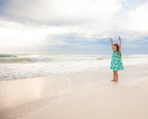sommerferie i Danmark, udflugt til blåvand strand