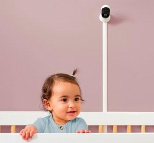 owlet baby Smart Sock og kamera i brug