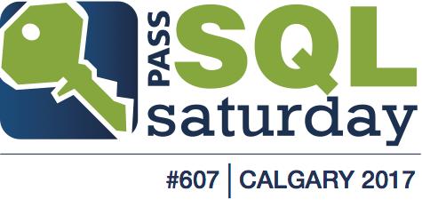 SQL Saturday 607 Calgary 2017