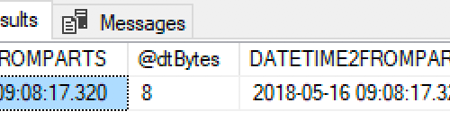 datetime2(3) uses fewer bytes and is more accurate than datetime