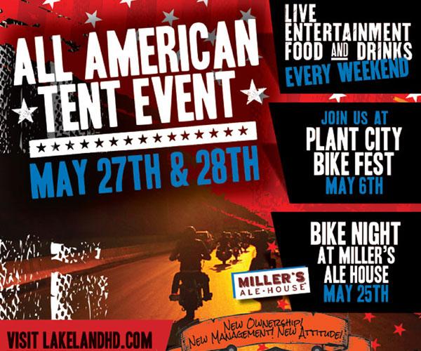 Lakeland H-D Bike Night at Miller's Ale House