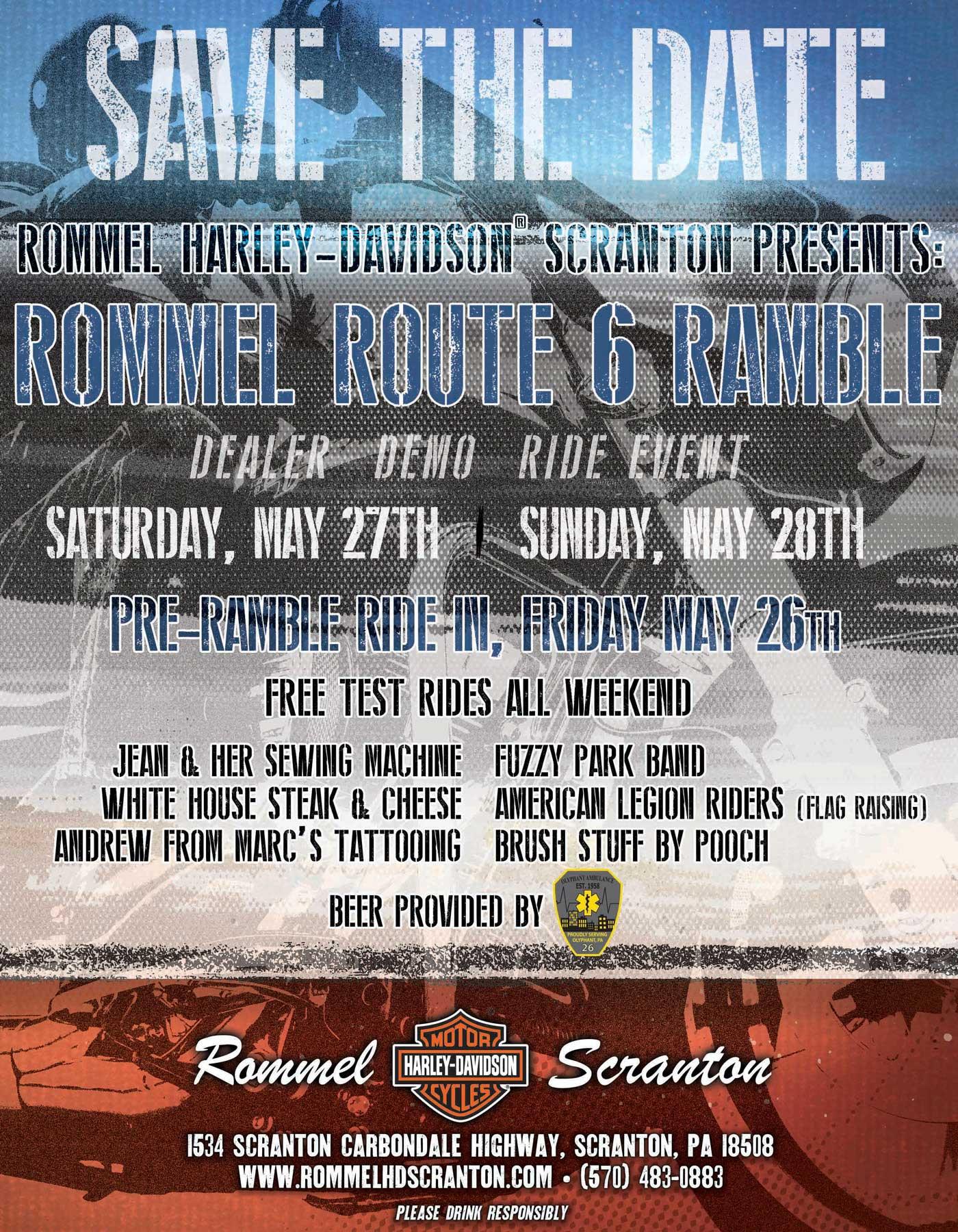 Rommel Route 6 Ramel