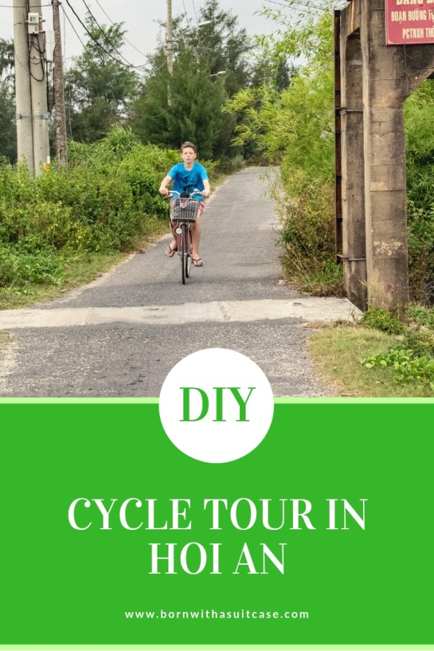 DIY cycling tour of Hoi An