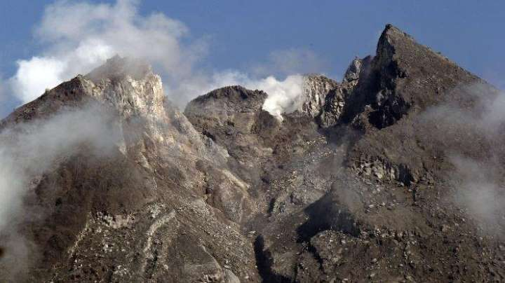 NEWS: Penampakan kubah lava merapi (Foto: @BPPTKG)