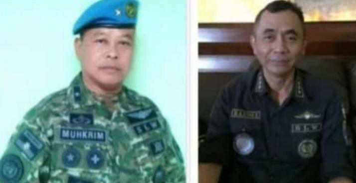 NEWS: Dua orang yang diduga menjadi salah satu pejabat di kerajaan Sunda Empire, salah satunya orang Magelang (Foto: Istimewa)