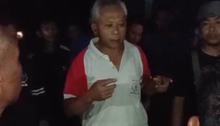 NEWS: Salah satu tokoh Dusun saat menjadi penengah (11/2/2020)