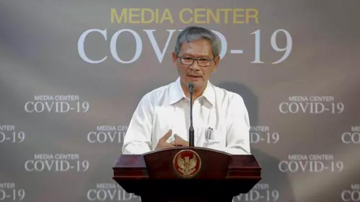 Juru Bicara Pemerintah untuk Penanganan Covid-19 di Indonesia Achmad Yurianto. (Foto: Internet)
