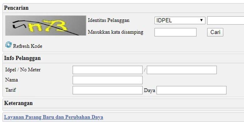 website untuk dapat subsidi token listrik
