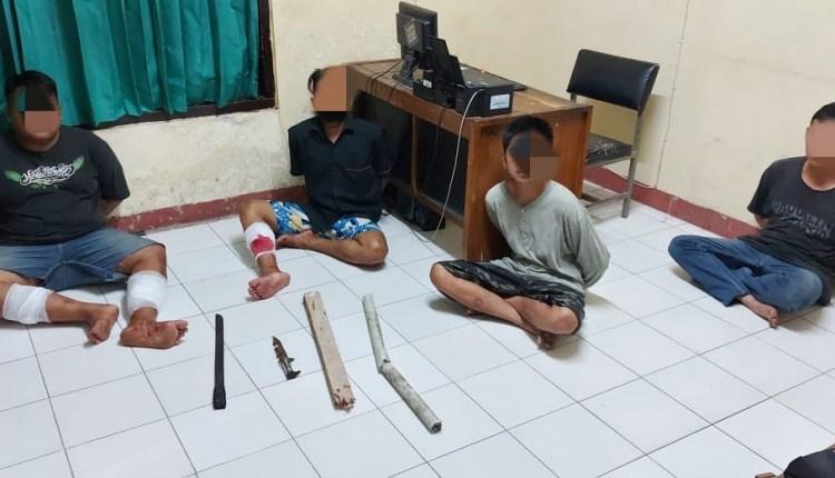 Dua pelaku dari empat ditembak petugas karena mencoba melawan saat ditangkap (7/5/2020)-(Foto: Istimewa)