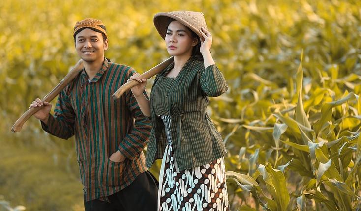 Salah satu pakaian adat Jawa