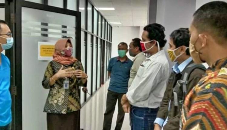 NEWS: SIdah Anggota DPRD Kabupaten Magelang sidak ke RS Merah Putih (5/6/2020)-(foto: Istimewa)