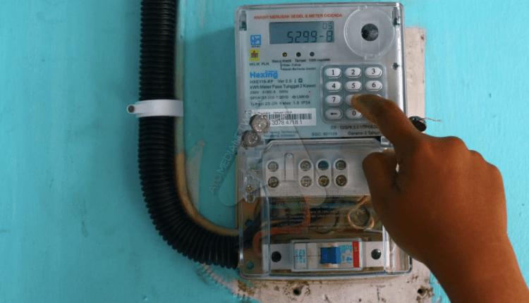 Meteran listrik PLN (Foto: internet)