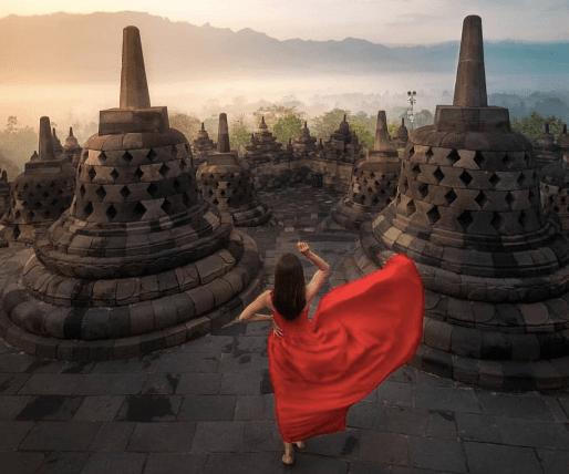 Candi Borobudur di Kabupaten Magelang
