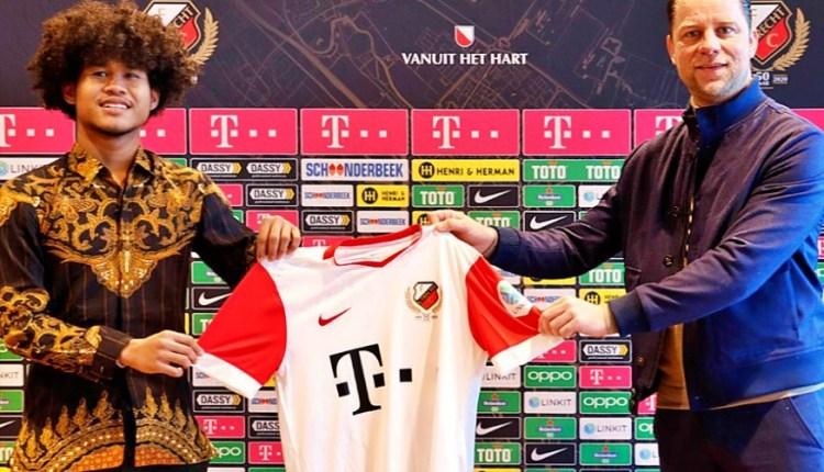 Bagus Kahfi resmi bergabung dengan klub Belanda (5/2/2021)