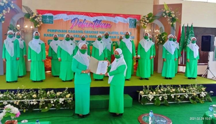 Pelantikan Pengurus Fatayat NU Kabupaten Magelang