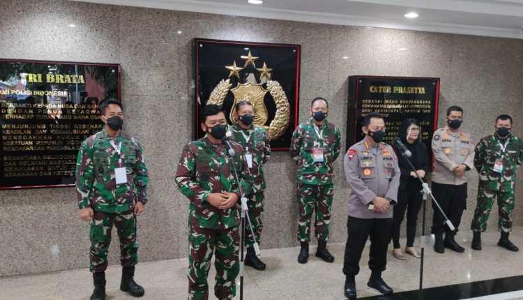 Rapim TNI Polri tekankan tugas dari presiden (15/2/2021)