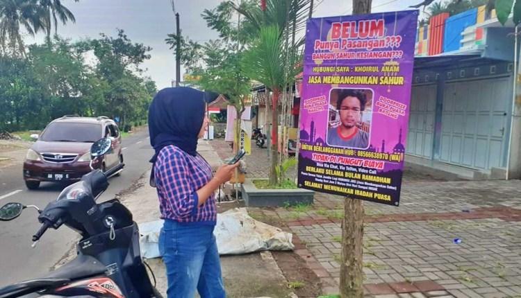 Jasa Bangunkan sahur By Seniman Foto Nyleneh Magelang