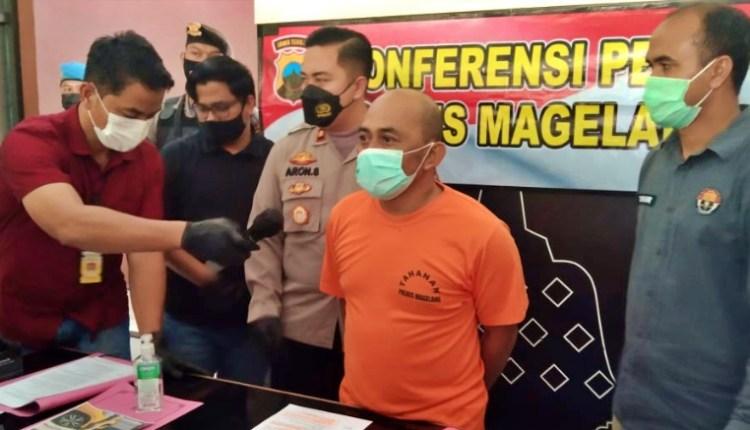 Satpam berinisial BD pelaku pencurian besi di proyek KSPN Borobudur