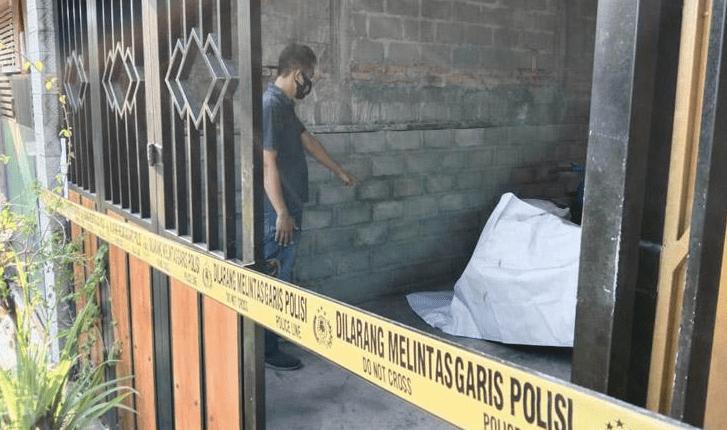 TKP: Rumah polisi di Kulon Progo Jogjakarta yang disatroni maling. (foto: ist)