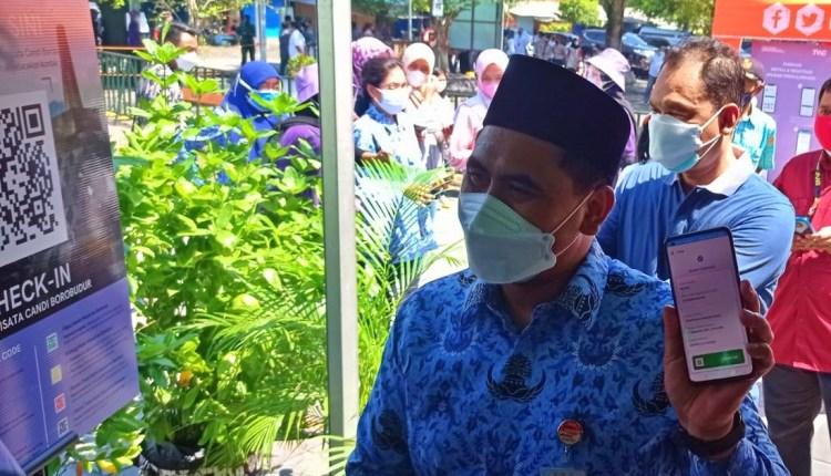 Wakil Gubernur Jateng, Taj Yasin hadiri simulasi pembukaan candi Borobudur