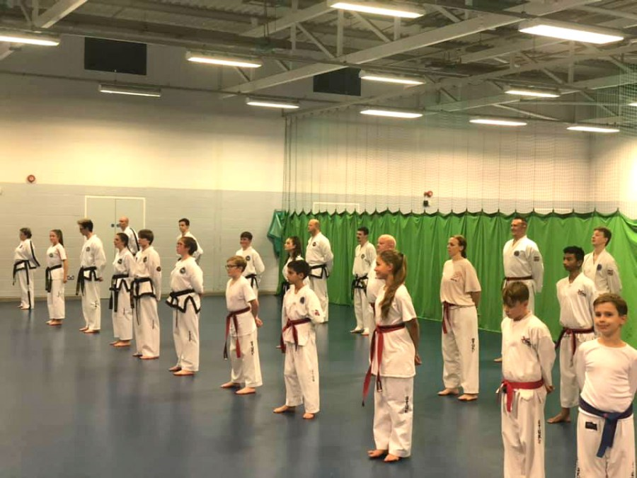 Big Turnout at Wellingborough Taekwon-do Club