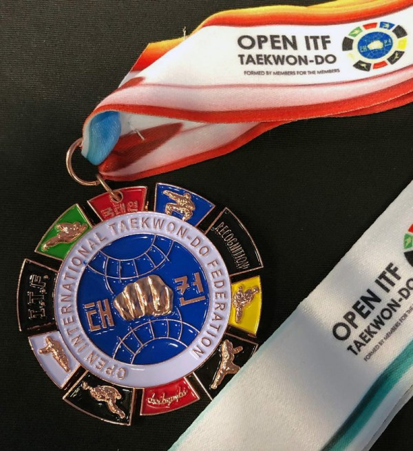 Open ITF medallists