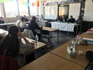 Nat 5 pupils ask a panel of faith leaders from Interfaith Scotland their religious, moral and philosophical questions.