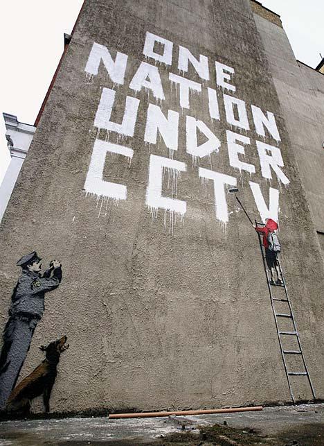 Banksy: One nation under CCTV