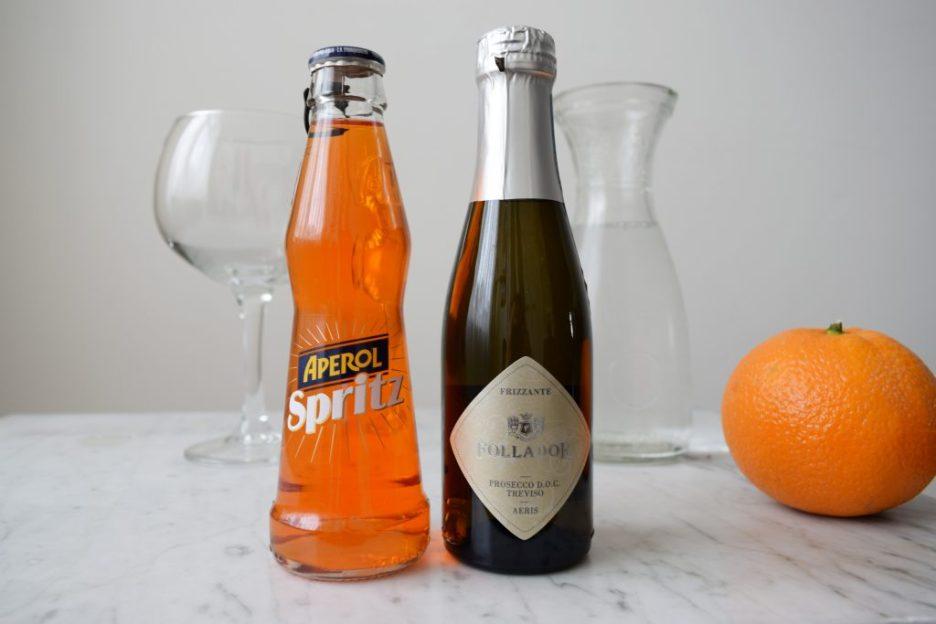 Ingrediënten Aperol Spritz