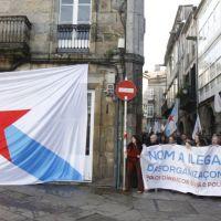 Ilegalizan a Causa Galiza