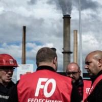 De las plazas al bloqueo de refinerías en Francia