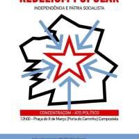 Día de la patria gallega e izquierda independentista