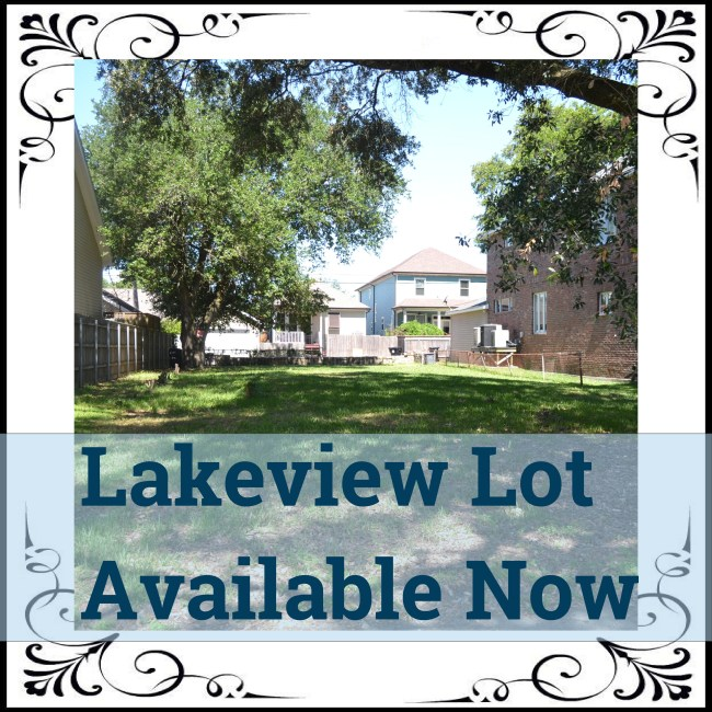 Lakeview Lot New Orleans