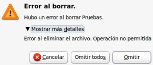 borrarDirecctorios