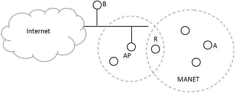 MANET network