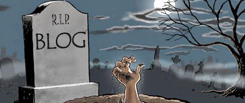 por que mueren los blogs