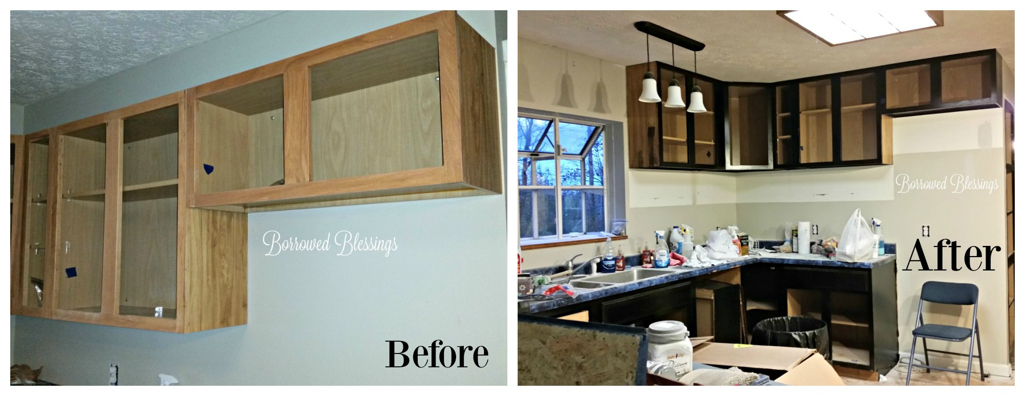 Refinishing our Kitchen Cabinets - The Good, The Bad and The VERY ...