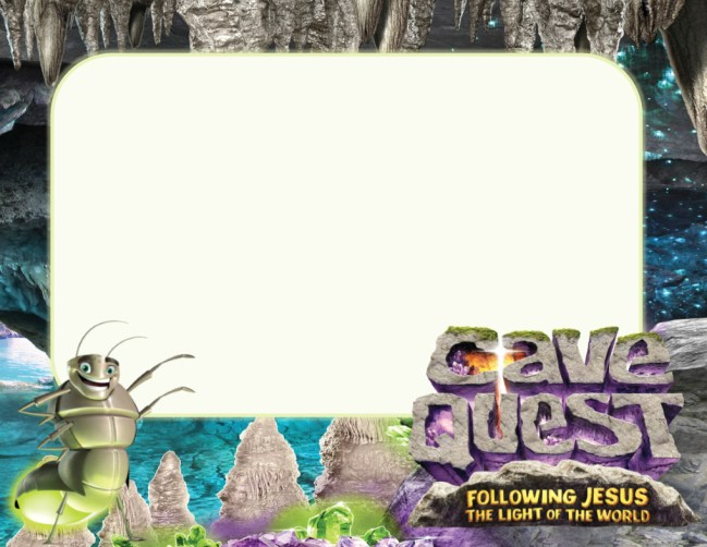 Cave Quest Vbs Advertising Postcards Borrowed Blessingsborrowed Blessings